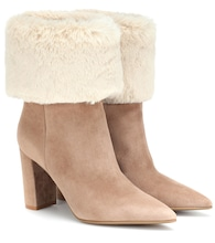 Joanne suede ankle boots