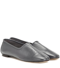 Petra leather ballet flats