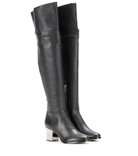Mercer leather over-the-knee boots