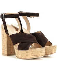 mytheresa.com exclusive Suzie suede platform sandals