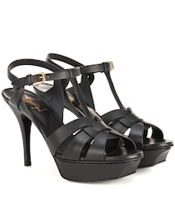 Classic Tribute 75 leather plateau sandals