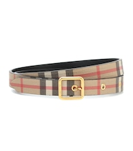 Vintage Check canvas belt