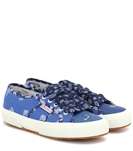 x SUPERGA® printed sneakers