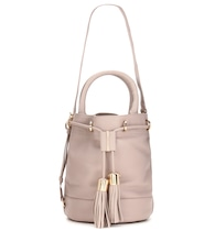 Vicki Large leather bucket bag