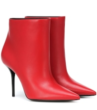Pierre 95 leather ankle boots