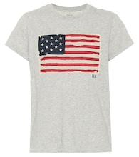 American Flag cotton T-shirt