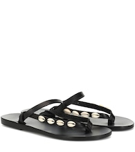 Exclusive to Mytheresa – Mirsini embellished leather sandals