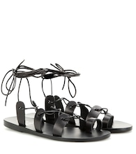 Alcyone leather sandals