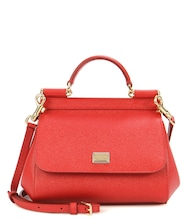 Sicily Mini leather shoulder bag