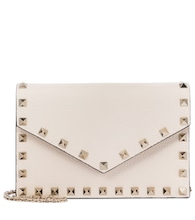 Valentino Garavani Rockstud Small leather clutch