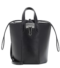 Allen Small leather bucket bag