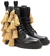 Aster Tassel leather boots