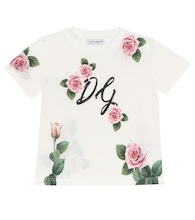 Baby floral cotton-jersey T-shirt