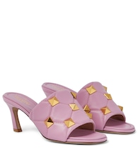 Valentino Garavani Roman Stud quilted leather sandals