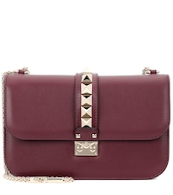 Valentino Garavani Lock Medium leather shoulder bag