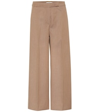 Revere cropped wide-leg pants