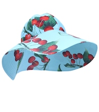 Exclusive to Mytheresa – cherry printed cotton hat