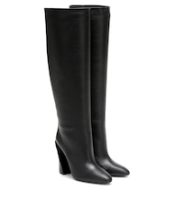 Antea knee-high leather boots