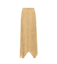 Nanco silk-habotai maxi skirt