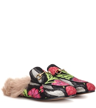 Princetown fur-lined slippers