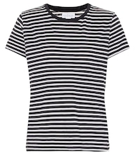 Hadley striped cotton-blend T-shirt