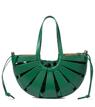 The Shell leather tote