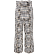 Charron wide-leg seersucker trousers