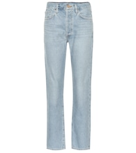 The Benefit high-rise straight jeans