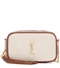 Lou Mini canvas crossbody bag