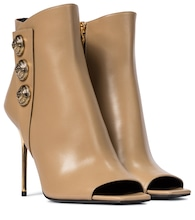 Sara leather ankle boots