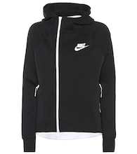 Sportswear Tech cotton-blend hoodie