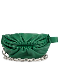 The Chain Pouch leather crossbody bag