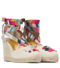 x Paul Smith Coralia wedge espadrilles