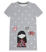 Miss Marc embroidered cotton dress