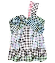 Gingham cotton top