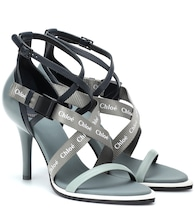 Veronica leather sandals