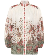 Empire Batik printed blouse