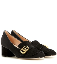Pumps Marmont aus Veloursleder