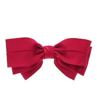 Exclusive to Mytheresa – Classic silk bow barrette