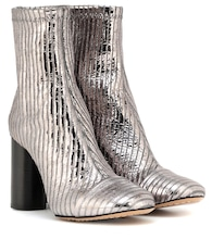 Rillyan metallic leather ankle boots