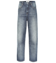 Corsyj high-rise carrot jeans