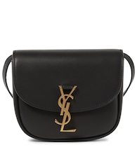 Kaia Small leather shoulder bag