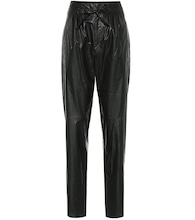 Duard faux-leather slim pants