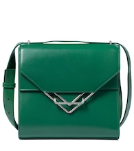 The Clip leather shoulder bag