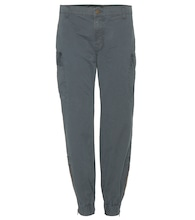 mytheresa.com exclusive Ayla high-rise cotton trousers