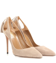 Forever Marilyn 105 suede pumps