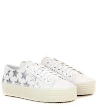 SL/39 leather platform sneakers