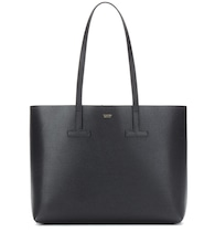 T Tote leather shopper