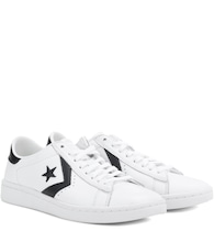 PL LP leather sneakers