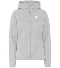 Windrunner cotton-blend hoodie